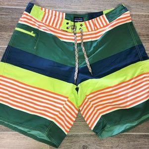 Men's PATAGONIA Wavefarer Board Shorts MINT 38